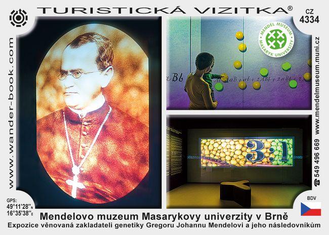 Mendelovo muzeum Masarykovy univerzity v Brně