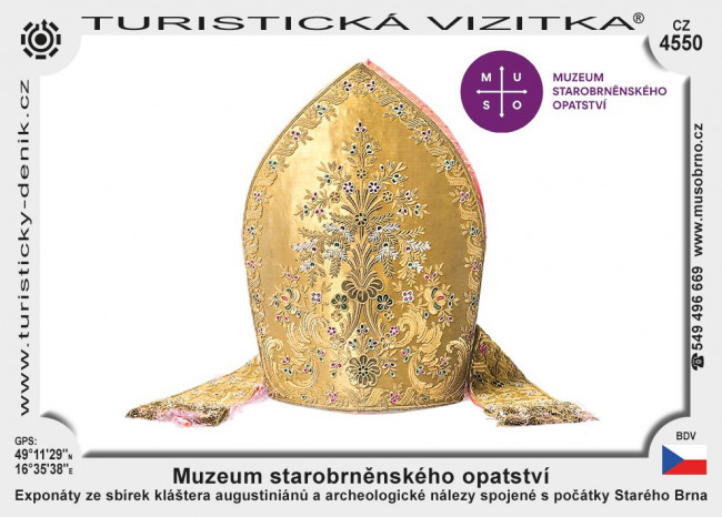 Brno muzeum opatství