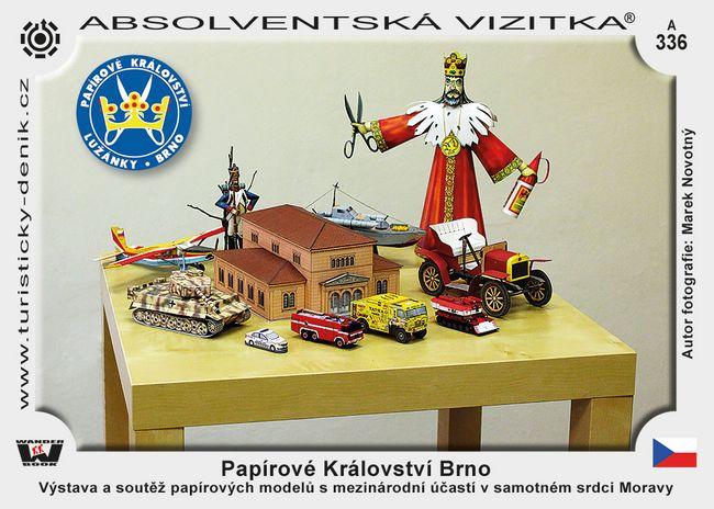 Brno papírové království