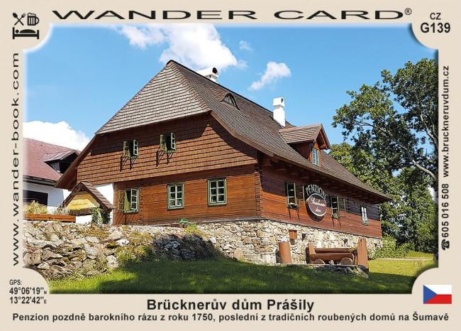 Brücknerův dům Prášily