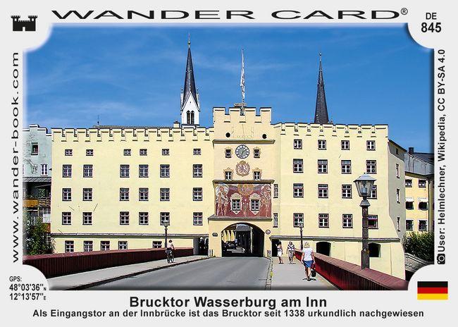 Brucktor Wasserburg am Inn