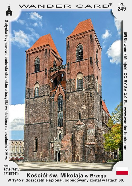 Brzeg kościół św Mikołaja