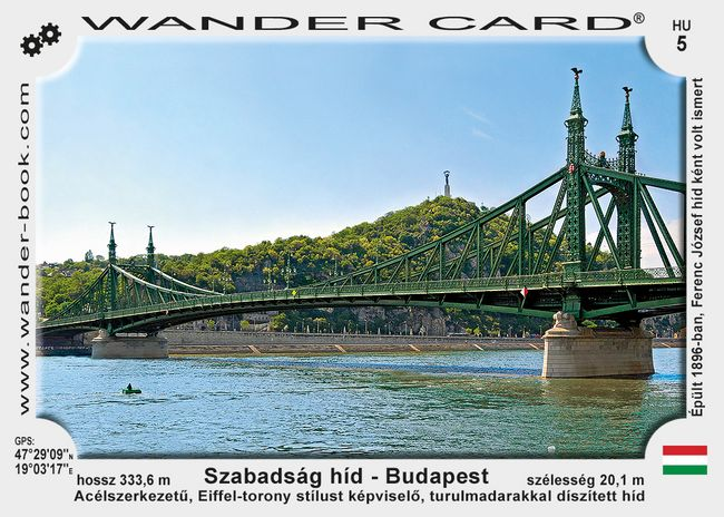 Budapest Szabadsag hid most