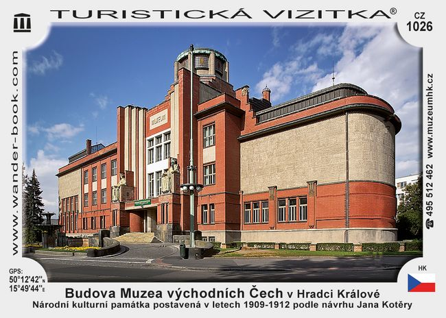 Budova Muzea východ. Čech v Hradci Kr.