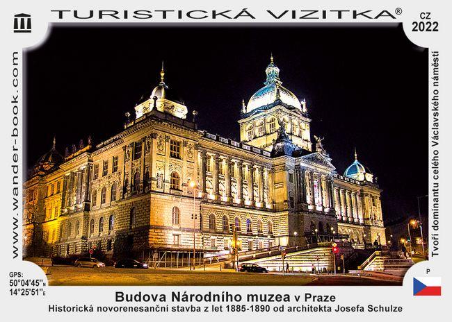 Budova Národního muzea v Praze