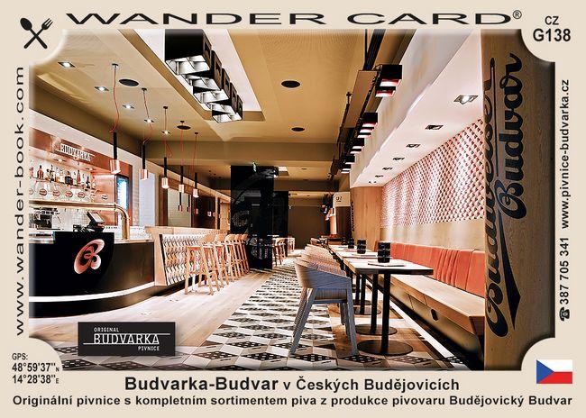 Budvarka-Budvar v Českých Budějovicích