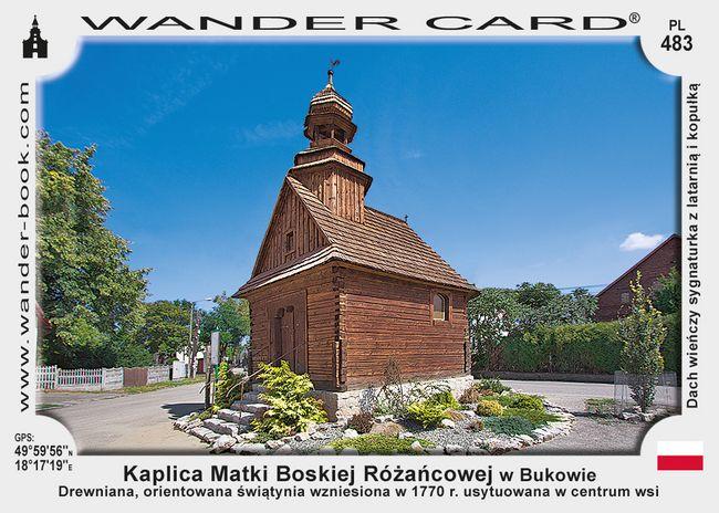 Buków kaplica drewniana