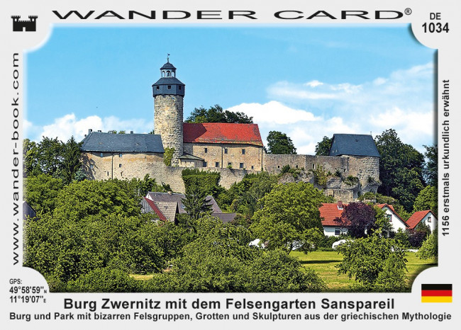 Burg Zwernitz mit dem Felsengarten Sanspareil