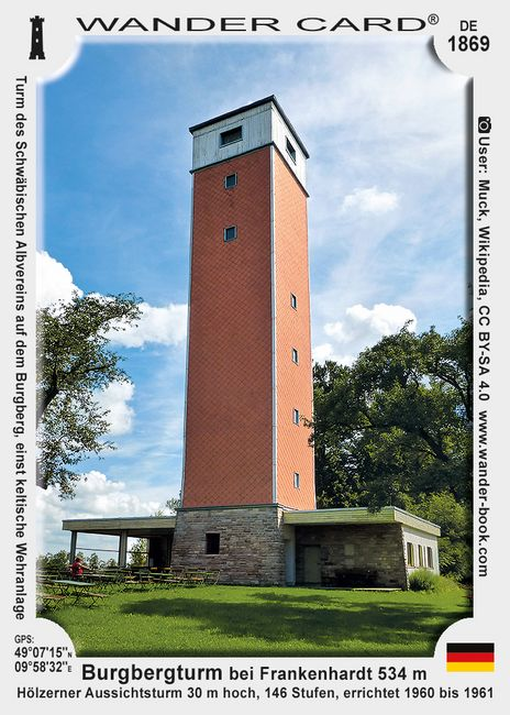 Burgbergturm bei Frankenhardt