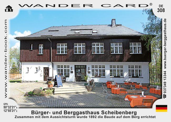 Bürger- & Berggasthaus Scheibenberg