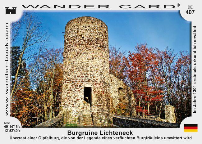 Burgruine Lichteneck