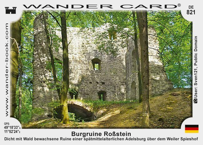 Burgruine Roßstein
