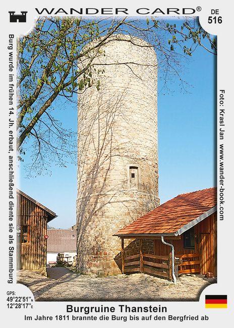 Burgruine Thanstein