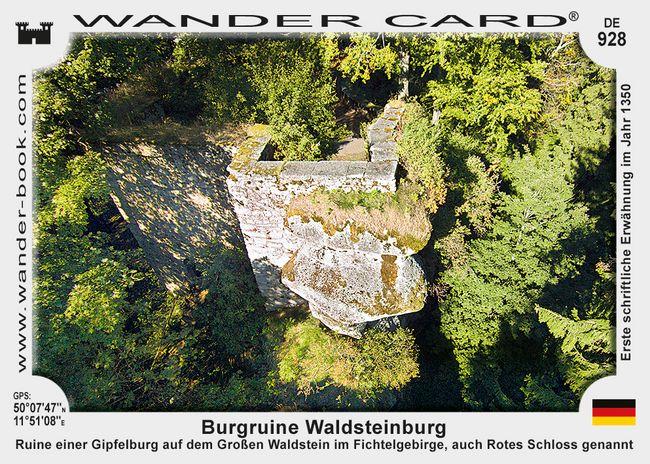 Burgruine Waldsteinburg