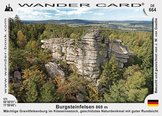 Burgsteinfelsen