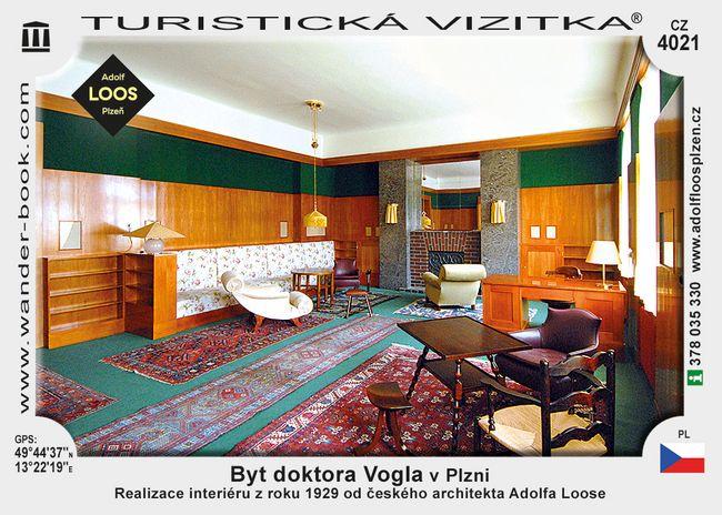 Byt doktora Vogla v Plzni