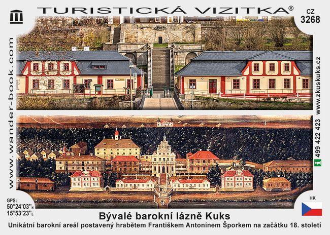 Bývalé barokní lázně Kuks
