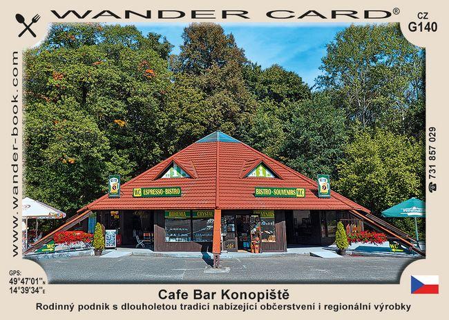 Cafe Bar Konopiště