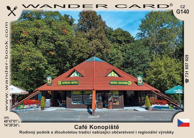 Café Konopiště