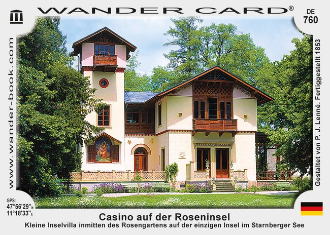 Casino auf der Roseninsel
