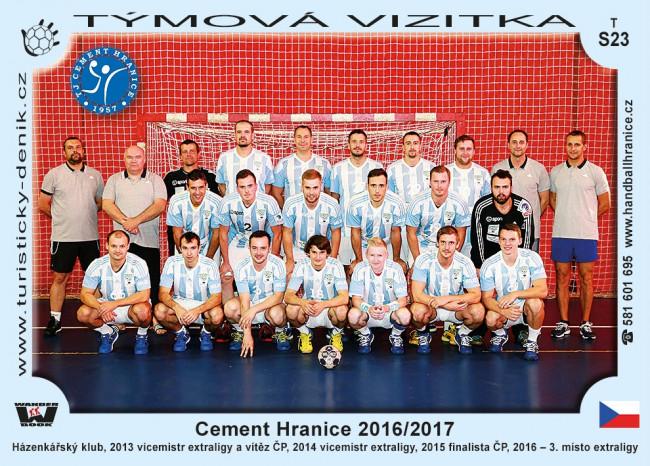 Cement Hranice 2016/2017