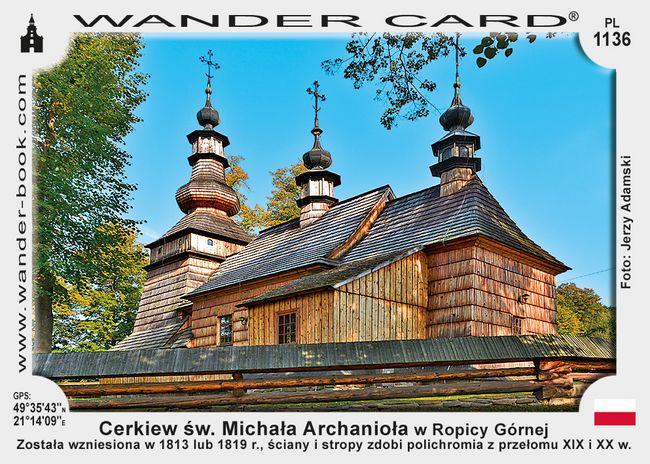 Cerkiew św. Michała Archanioła w Ropicy Górnej