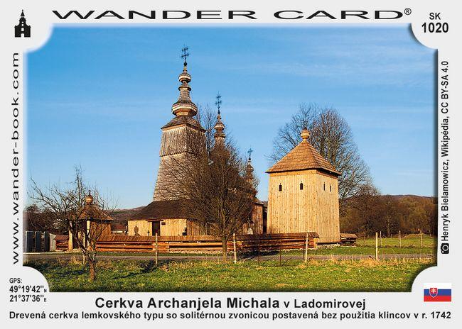 Cerkva Archanjela Michala v Ladomirovej
