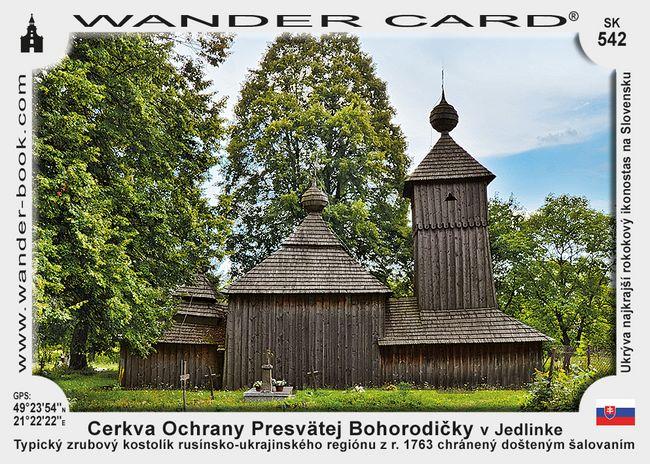 Cerkva Ochrany Presvätej Bohorodičky v Jedlinke