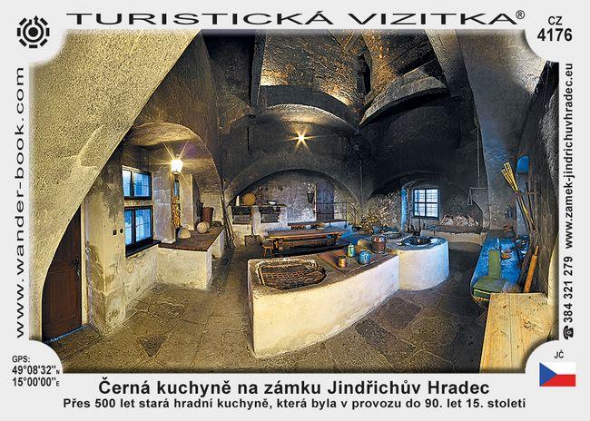 Černá kuchyně na zámku Jindřichův Hradec