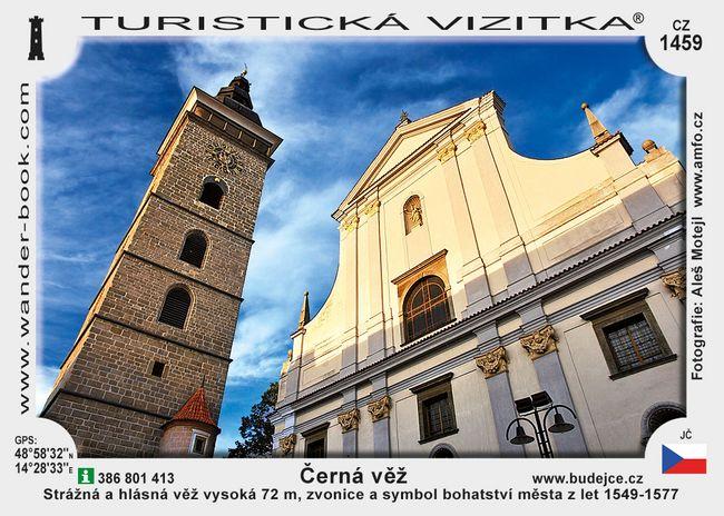 Černá věž v Českých Budějovicích