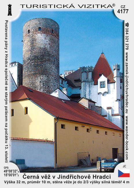 Černá věž v Jindřichově Hradci