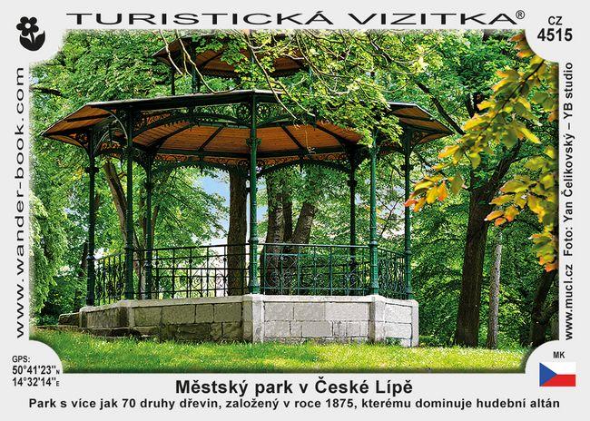 Česká Lípa park