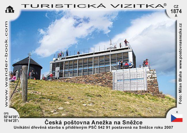 Česká poštovna Anežka na Sněžce