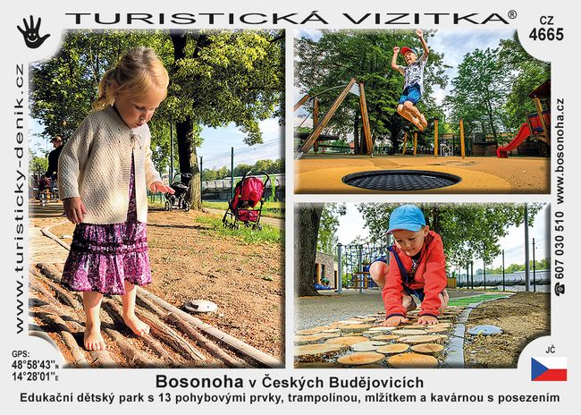 Bosonoha v Českých Budějovicích
