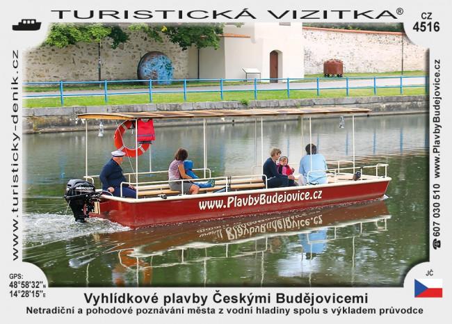 České Budějovice Malše plavby
