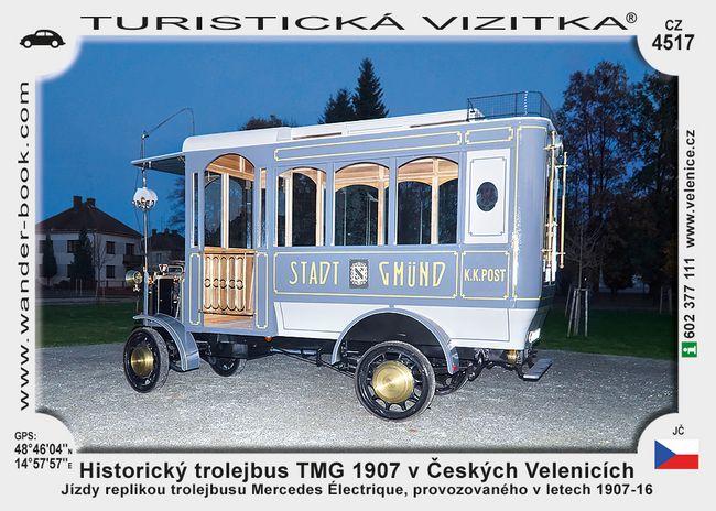 České Velenice trolejbus