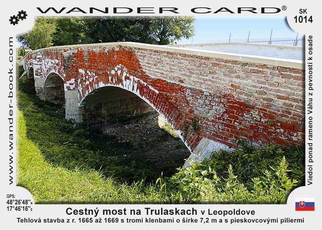 Cestný most na Trulaskach v Leopoldove