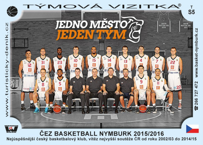 ČEZ Basketball Nymburk 2015/2016