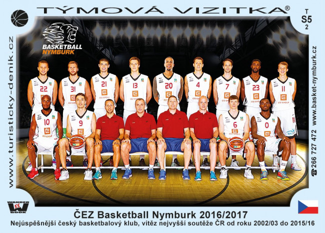 ČEZ Basketball Nymburk 2016/2017