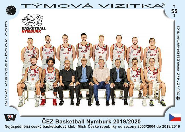 ČEZ Basketball Nymburk 2019/2020