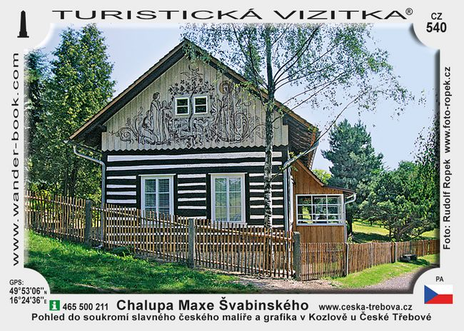 Chalupa Maxe Švabinského - památník