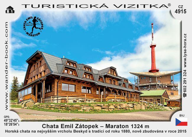 Chata Emil Zátopek – Maraton