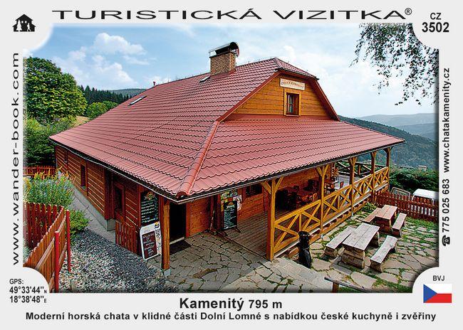 Chata Kamenitý