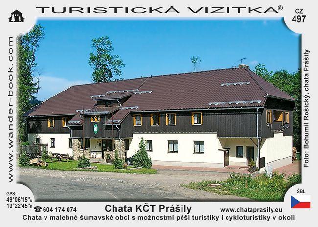 Chata KČT Prášily