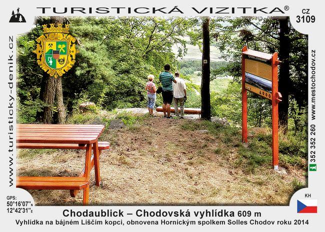 Chodaublick - Chodovská vyhlídka