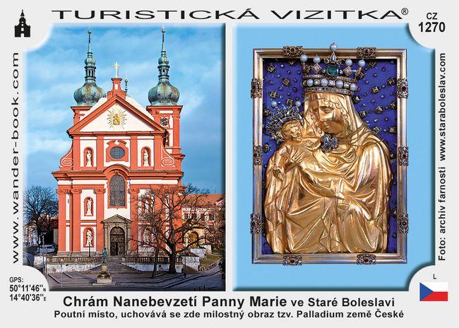 Chrám NPM ve Staré Boleslavi