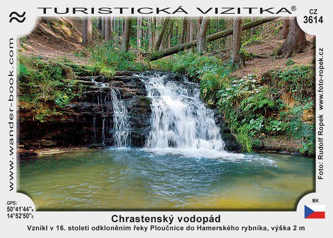 Chrastenský vodopád