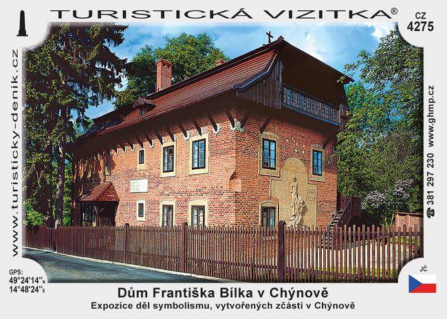 Galerie hl. města Prahy – Dům Františka Bílka v Chýnově