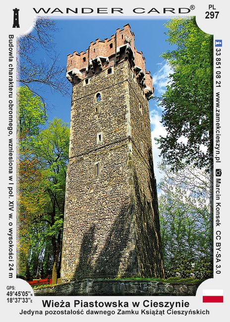 Cieszyn wieża piastowska