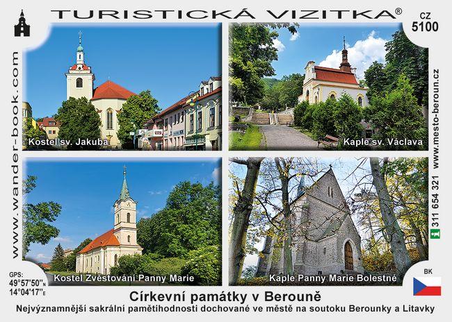Církevní památky v Berouně